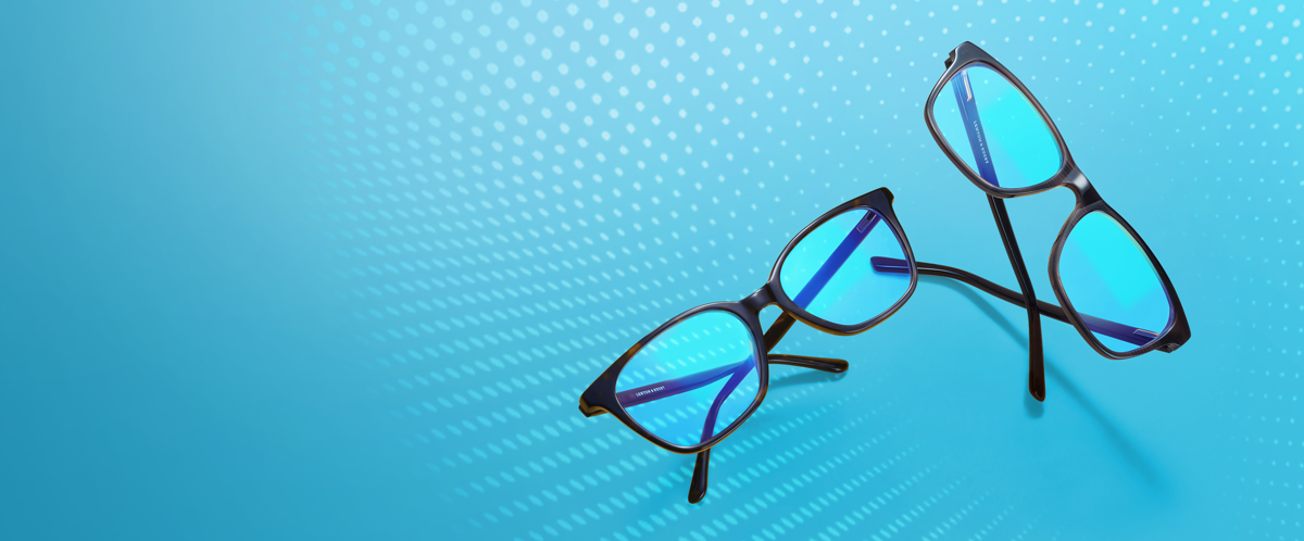 NEW BLUE LIGHT GLASSES FROM EYECONIC