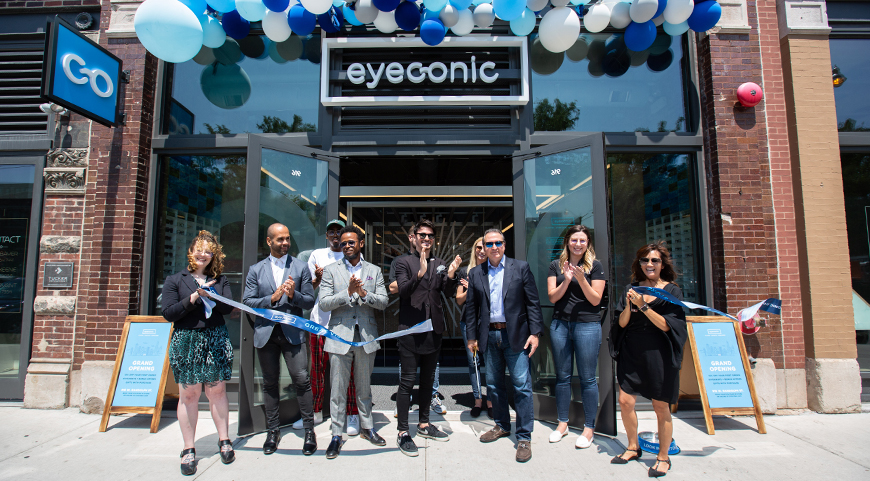 Eyeconic Chicago Grand Opening